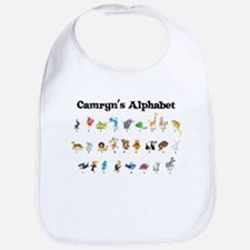 Camryn's Animal Alphabet Bib