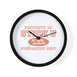 Property of Stick U Gymnastics Wall Clock