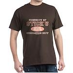 Property of Stick U Gymnastics Dark T-Shirt
