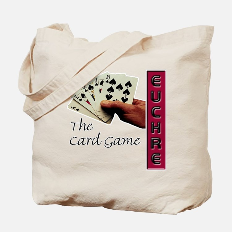 Euchre Card Game Tote Bag
