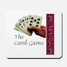 Euchre Card Game Mousepad