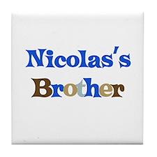 Nicolas's Brother Tile Coaster