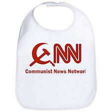 CNN - Commie News Network Bib