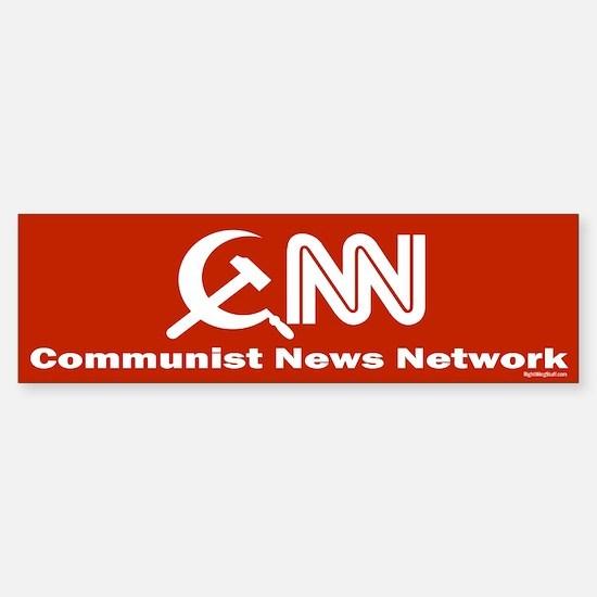 CNN - Commie News Network Bumper Bumper Bumper Sticker