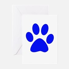 Cool Black paws Greeting Cards (Pk of 10)