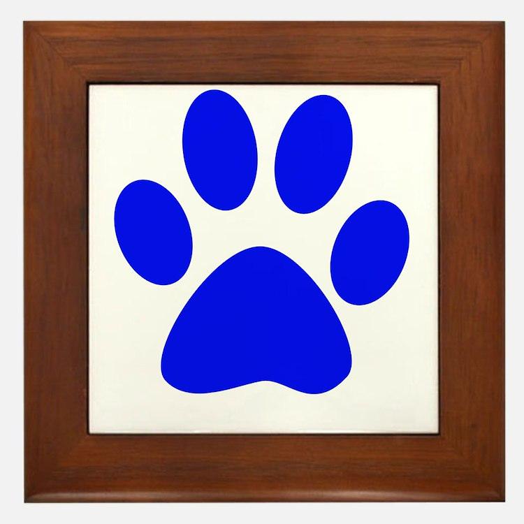 Cute Pup Framed Tile