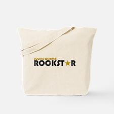 Social Worker Rockstar 2 Tote Bag