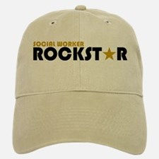 Social Worker Rockstar 2 Baseball Baseball Cap