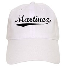 Vintage Martinez (Black) Baseball Cap