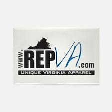 www.RepVA.com Rectangle Magnet