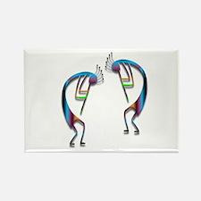 Two Kokopelli #97 Rectangle Magnet (10 pack)