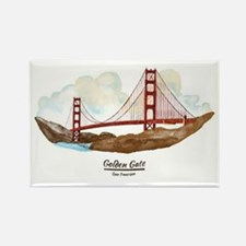 San Francisco Golden Gate Bridge Magnets