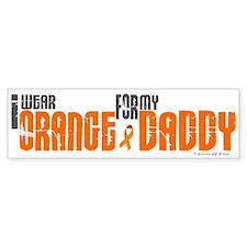 I Wear Orange For My Daddy 6 Bumper Bumper Sticker