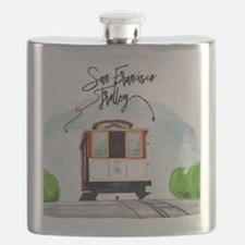 Cute San francisco Flask
