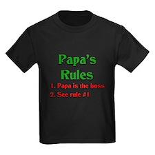 Italian Papa's Rules T