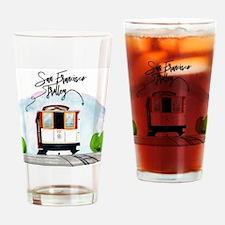 Cute San francisco Drinking Glass