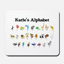 Katie's Animal Alphabet Mousepad