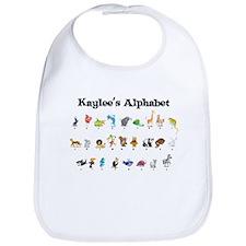Kaylee's Animal Alphabet Bib
