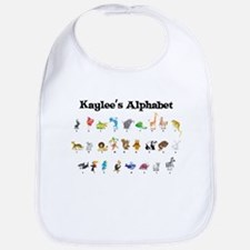 Kaylee's Animal Alphabet Bib