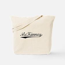 Vintage McKinney (Black) Tote Bag