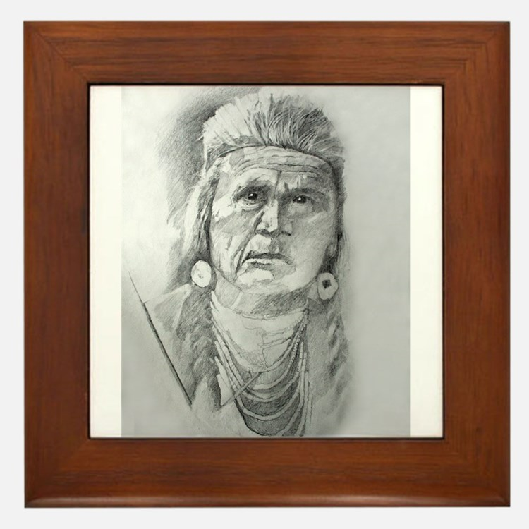 Seattle Chief Framed Tile
