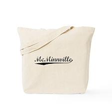 Vintage McMinnville (Black) Tote Bag
