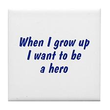 WIGU Hero Tile Coaster