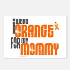 I Wear Orange For My Mommy 6 Postcards (Package of