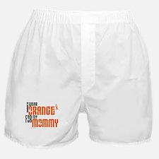 I Wear Orange For My Mommy 6 Boxer Shorts