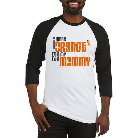 I Wear Orange For My Mommy 6 Baseball Jersey