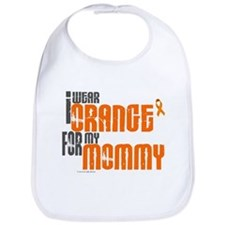 I Wear Orange For My Mommy 6 Bib