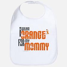 I Wear Orange For My Mommy 6 Bib
