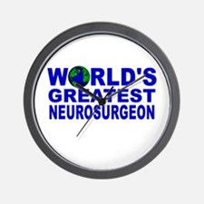 World's Greatest Neurosurgeon Wall Clock