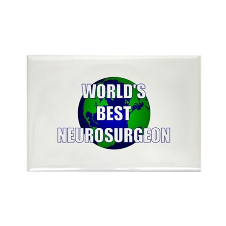 World's Best Neurosurgeon Rectangle Magnet (10 pac