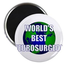 "World's Best Neurosurgeon 2.25"" Magnet (10 pack)"