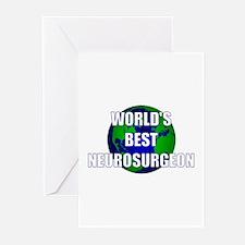 World's Best Neurosurgeon Greeting Cards (Pk of 10