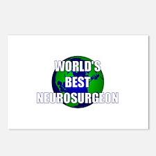 World's Best Neurosurgeon Postcards (Package of 8)