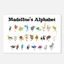 Madeline's Animal Alphabet Postcards (Package of 8