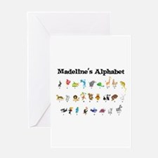 Madeline's Animal Alphabet Greeting Card