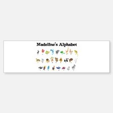 Madeline's Animal Alphabet Bumper Bumper Bumper Sticker