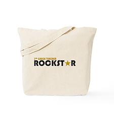 3rd Grade Teacher Rockstar 2 Tote Bag