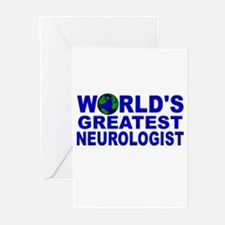 World's Greatest Neurologist Greeting Cards (Pk of