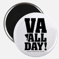 """VA ALL DAY 2.25"""" Magnet (100 pack)"""