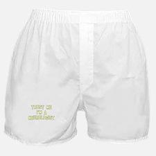 Trust Me I'm a Neurologist Boxer Shorts