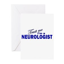 Trust Me I'm a Neurologist Greeting Cards (Pk of 1