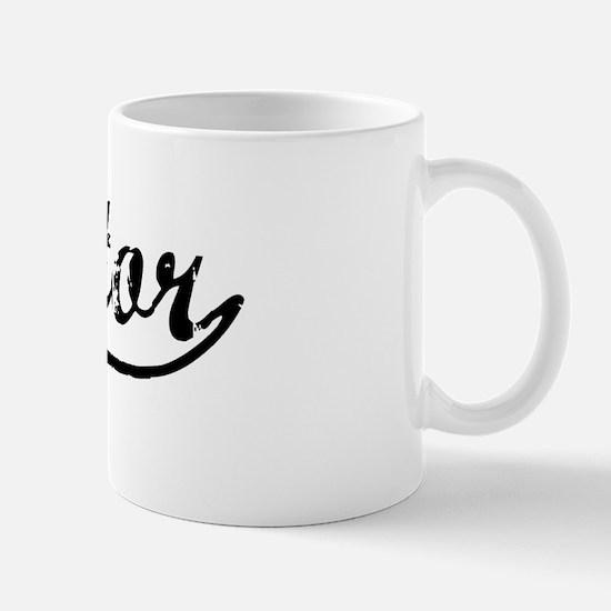 Vintage Mentor (Black) Mug