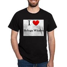 I Love Beluga Whales T-Shirt