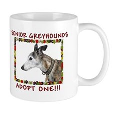 Love Those Senior Greyhounds Mug