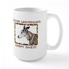 Love Those Senior Greyhounds Mug
