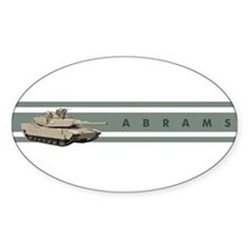 Abrams Oval Decal